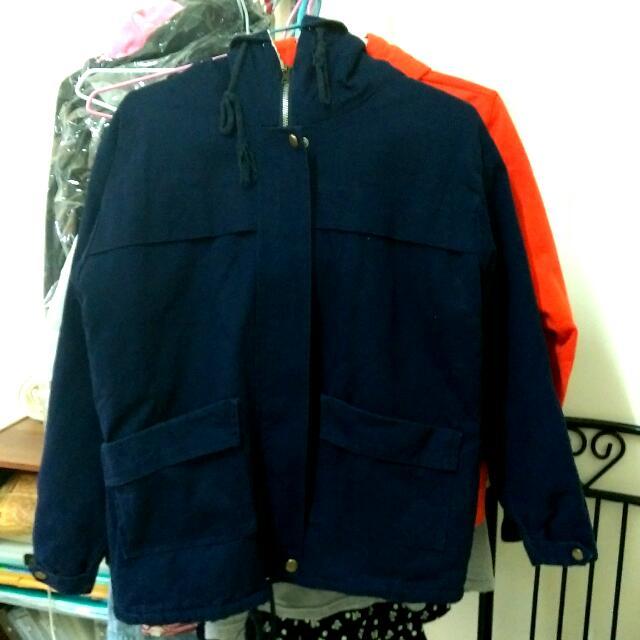 【二手/含運】冬季舖棉厚刷毛外套