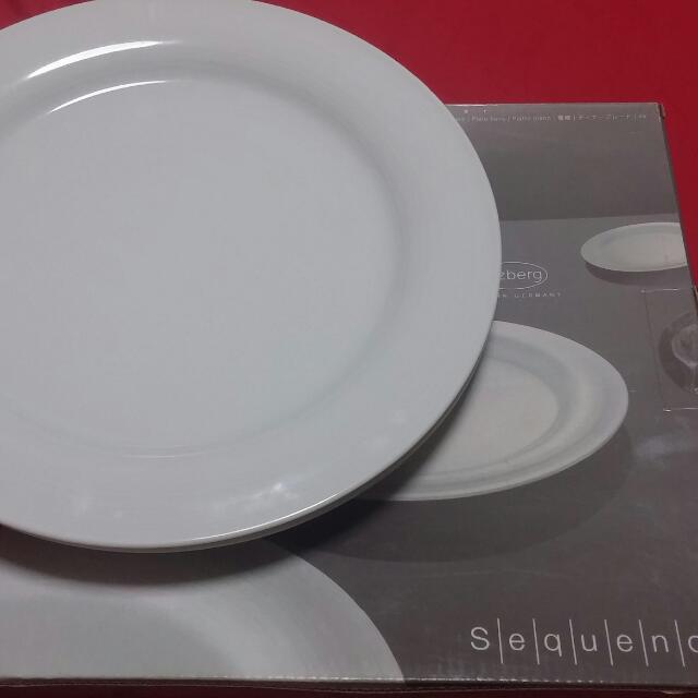 Arzberg 2 pc dinner plate