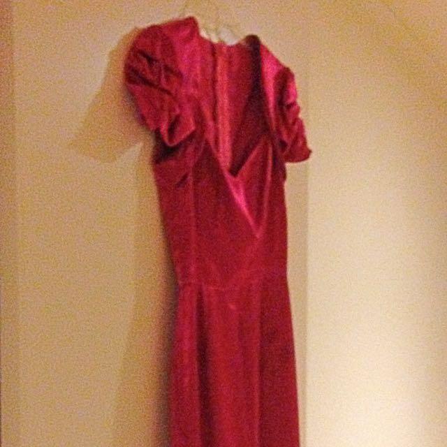 Custom Made Dress Size 8-10 Brand New