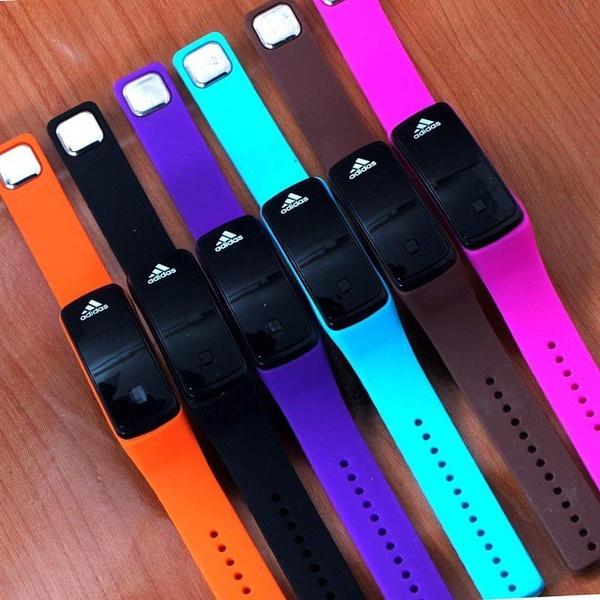 Bardzo dobry Jam Gelang Led Geneva Nike Adidas Smart Watch, Design & Craft on BO37