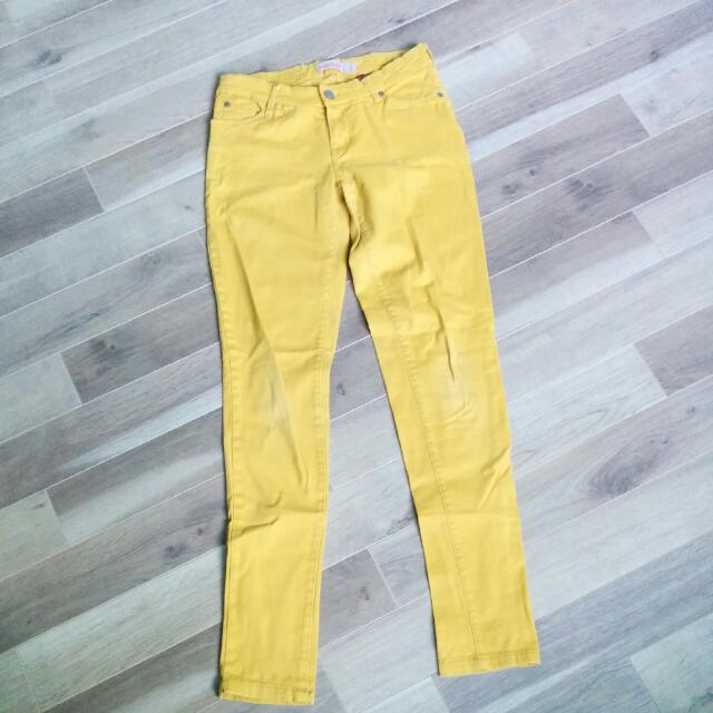 Judy Blue Mustard Yellow Jeans