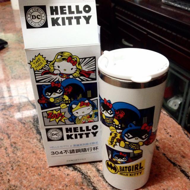 Kitty 蝙蝠俠 不鏽鋼隨行杯