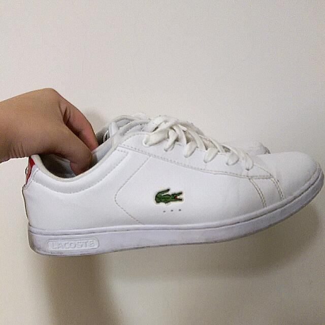 Lacoste 鱷魚牌 白色女鞋 正品
