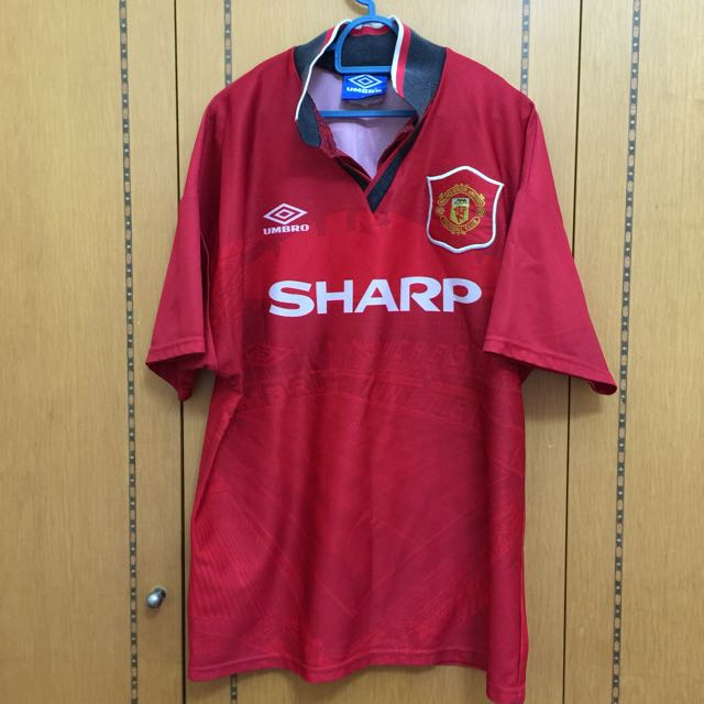 sports shoes be94d 361ce (RESV) Manchester United Jersey 1994