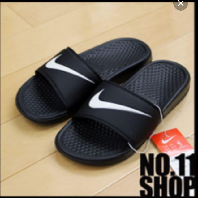 待匯款)Nike Logo拖鞋