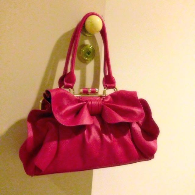 Pink handbag BNWT