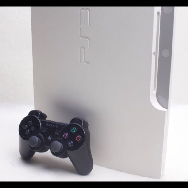 SONY PS3 主機 HDD 160G (CECH-3007A) 加1隻原廠手把 白色主機
