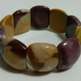 BN Mookaite Gemstone Bracelet