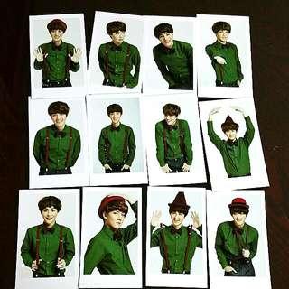 EXO LOMO CARD SERIES