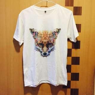 彩色狐狸T-shirt