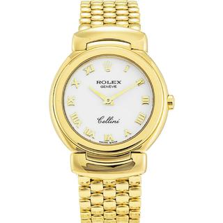 ROLEX CELLINI QUARTZ SOLID 18K GOLD WOMEN'S LUXURY WATCH