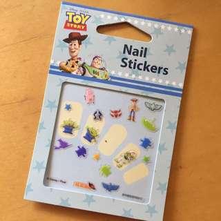 迪士尼 玩具總動員 指甲貼
