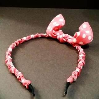🚚 蝴蝶結髮箍