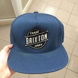 BRIXTON SNAPBACK 藍色 (九成新)
