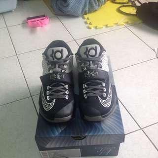 Nike KD7 黑白 籃球鞋 BHM 陰陽 黑人月 US8