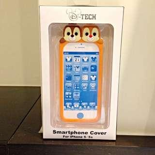 i5/5s 奇奇蒂蒂 迪士尼手機軟殼 正版