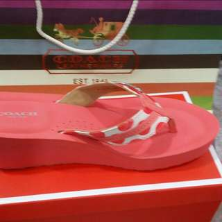 Brand new coach sandals! Fast deal at 68