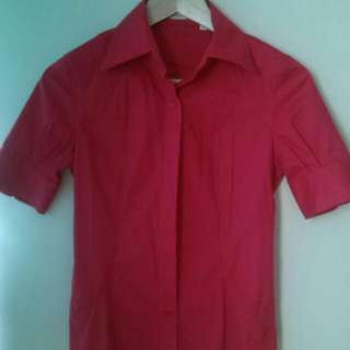 RAUL Red Blouse