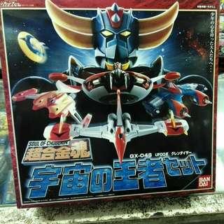 超合金魂 宇宙的王者(無敵鐵金剛) GX-04S