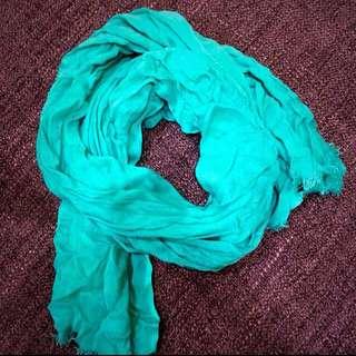 超歐美  Mango薄圍巾
