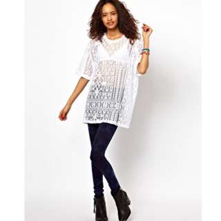 ASOS Lace Tee