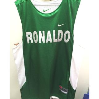 NIKE 綠/白 練習球衣