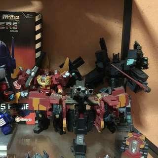 Fans Project Nemesis Prime,Hot Rod & Optimus Prime