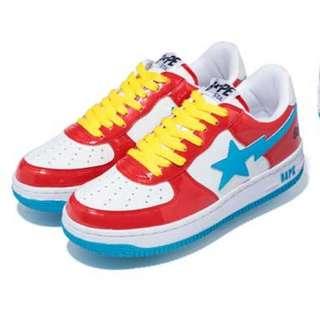 Bape X Hello Kitty 聯名鞋款