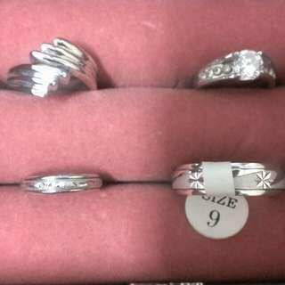 戒指-全新 4款一起賣 可換物