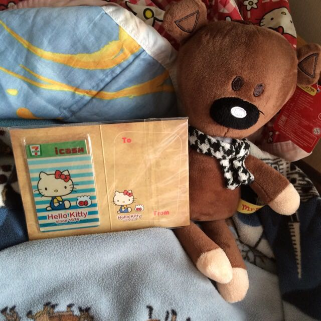 小7第一代I-cash卡_Hello Kitty35週年紀念icash