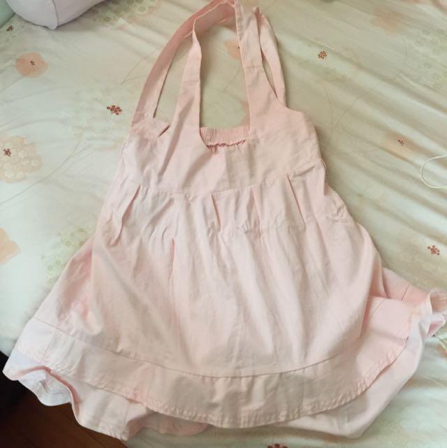 二手粉紅色連身裙