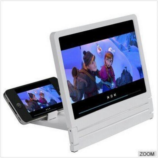 超創意!手機放大鏡 螢幕放大器 迷你劇院 手機支架 懶人支架 iphone samsung htc