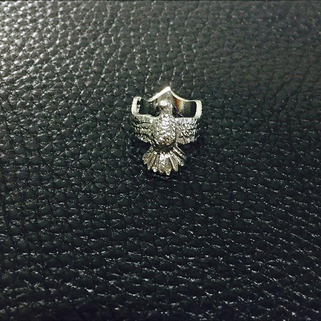 老鷹 指環 stack ring