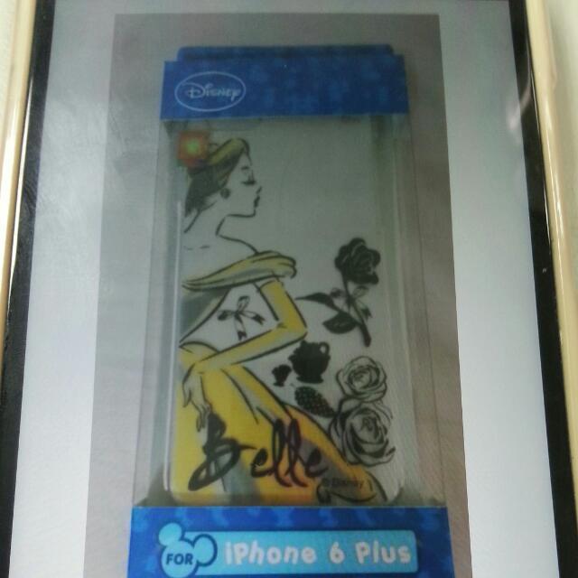 正版 Disney 迪士尼 iphone 6 plus 彩繪公主系列透明殼 保護殼 硬殼