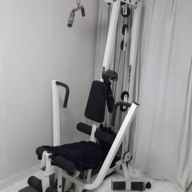 Reserved aibi body solid all in one home gym sports on carousell