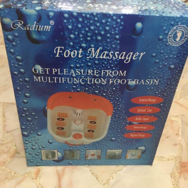 Brand New: BNIB Foot Spa Massager