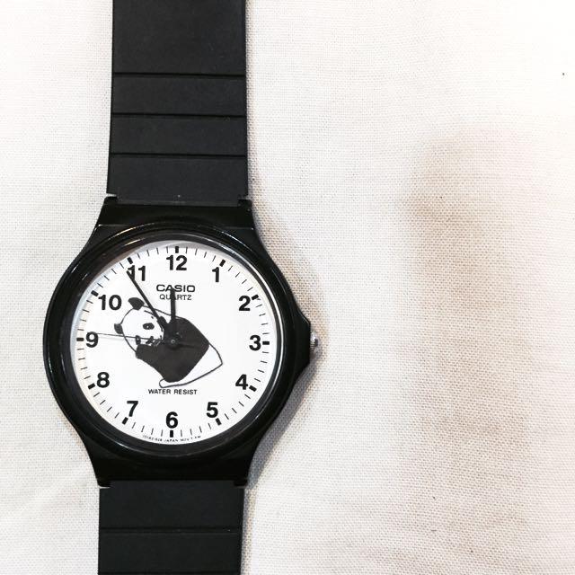 CASIO 熊貓石英手錶⌚️