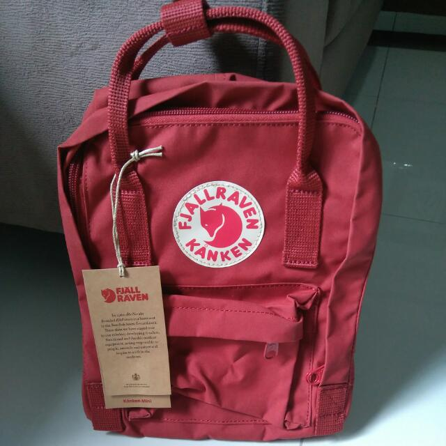 33876a56dc Fjallraven Kanken Mini Deep Red