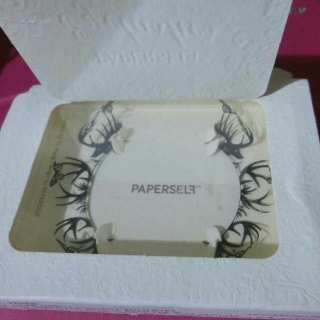 Paperself 藝術紙雕假睫毛 派對 造型 必備