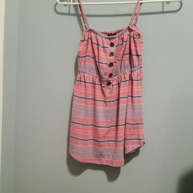 Pink Speghetti strap Shirt