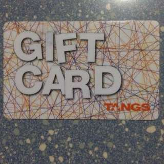10% Discount! S$100 TANGS gift Card ONLY for S$90