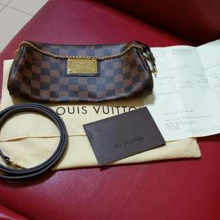 Louis Vulitton EVA DAMIER Authentic