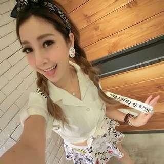 ᴍᴀᴊᴏʀ ᴍᴀᴅᴇ 白色網球襯衫xs (全新吊牌未拆)💋Major Made,MJR