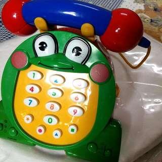 🌞青蛙音樂電話 降價