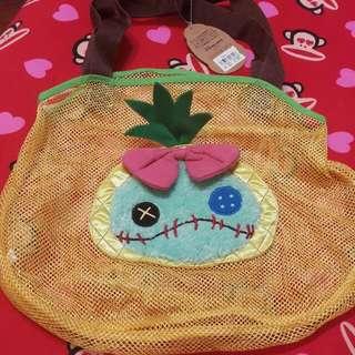 日本迪士尼 Disney Store 網狀袋 沙灘袋