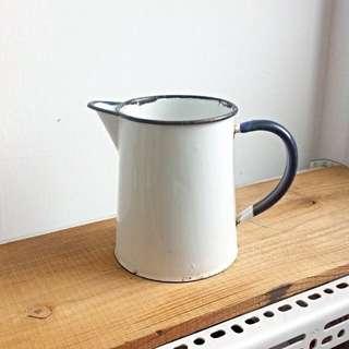 英國老珐瑯壺