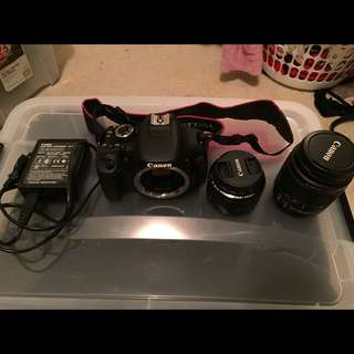 Canon 600D Rarely Used
