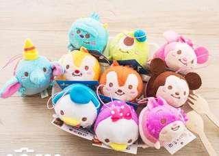 迪士尼Tsum小吊飾(可做螢幕擦使用,米妮、黛西、妙妙貓、小飛象,一共四隻,奇奇、蒂蒂、唐老鴨、米奇、毛怪、大眼仔已售完)