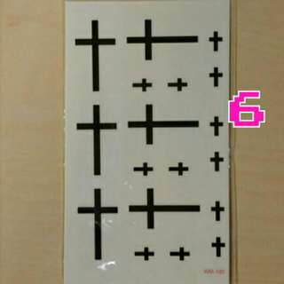 紋身貼紙👉No.6