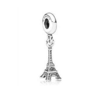 全新*PANDORA潘朵拉巴黎鐵塔墜飾